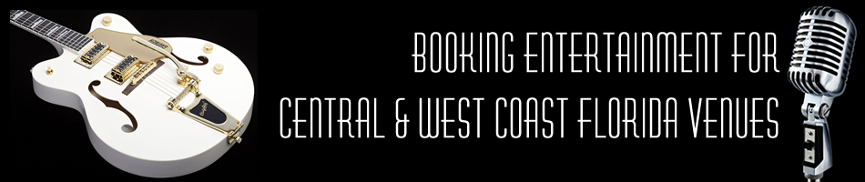 booking entertainment in central and west florida